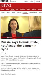Rainsford report Russia