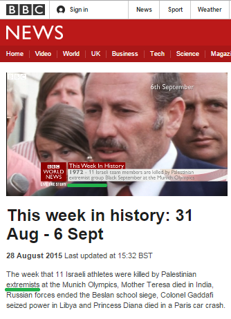 More BBC News rebranding of Munich Olympics terrorists