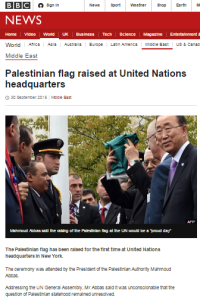 BBC prefers pageantry to serious discussion of Abbas' threats on Oslo accords