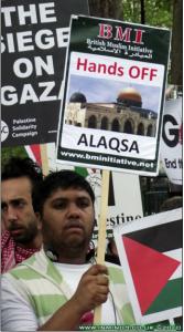 Demonstration in London, UK, 2010