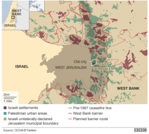 BBC map settlements
