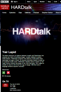 Hardtalk Lapid