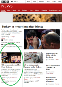 Response missile Gaza 11 10 on Main page