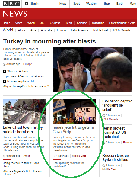 Wave of terror brings rare BBC reporting on missile ...