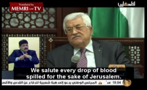Abbas incitement