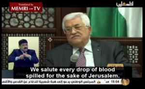 Abbas incitement
