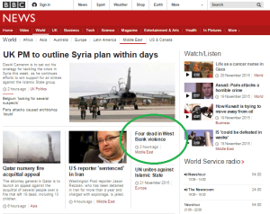 BBC News promotes equivalence between terrorists and victims