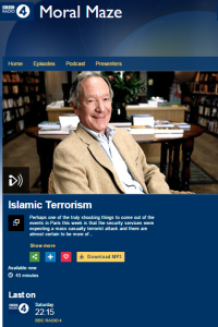 Radio 4 showcases politicised soundbites in debate on Islamist terror