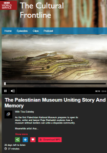 New BBC WS culture show misleads on cause of terror wave in Israel in seven words