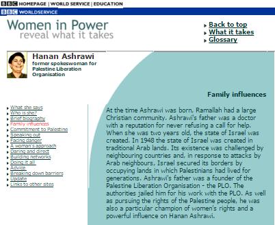 Ashrawi page