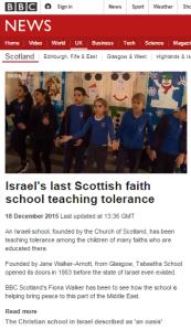 BBC Scotland filmed