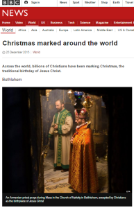 BBC News Christmas report amended to remove misleading description