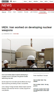More superficial BBC reporting on Iranian nuclear programme PMDs