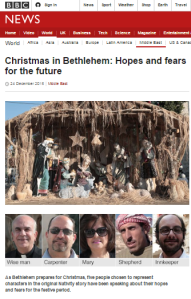 BBC's Knell yet again politicises Christmas in Bethlehem report
