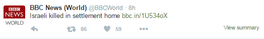Another fatal terror attack; another miserable BBC News headline