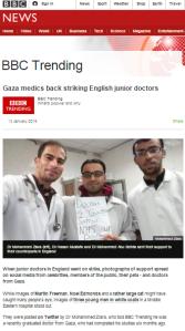 BBC Trending promotes terror supporting Gaza propagandist