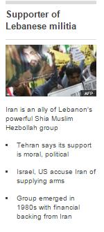 insert Iran profile Hizballah
