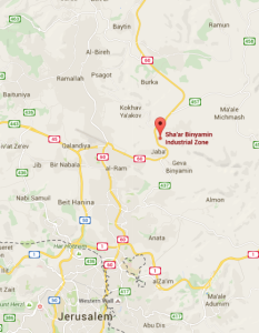 Shaar Binyamin map