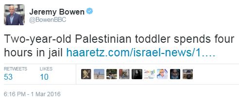 Bowen tweet Issawiya riots