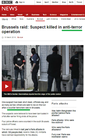 Another example of the BBC's double standards on terror