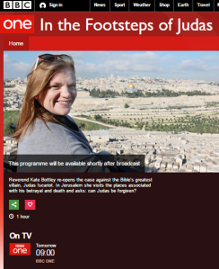 In the footsteps of Judas