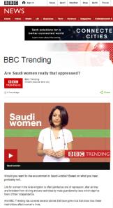 Saudi women Trending