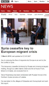 BBC News promotes unchallenged Assad propaganda