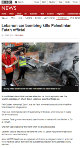 BBC report on assassination in Lebanon fails to provide context