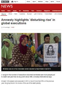 executions art
