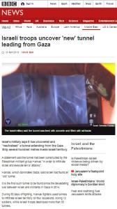 Hamas tunnel art