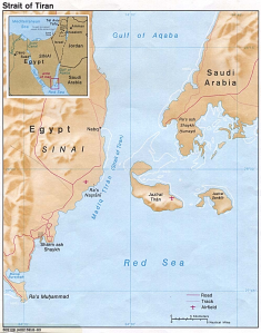 map Tiran
