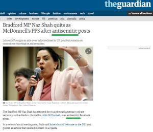 Naz Shah Guardian