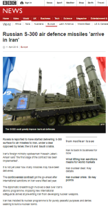 BBC News misleads on Russian S-300 missiles and Iran sanctions