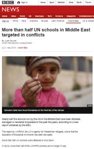Doucet UNRWA