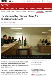 Gaza executions art