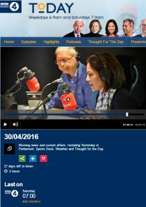 BBC's Jeremy Bowen misrepresents a CST statement