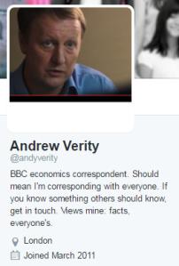 Verity profile