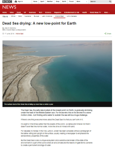 Connolly Dead Sea