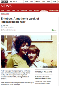 BBC article on Entebbe anniversary marred by euphemism