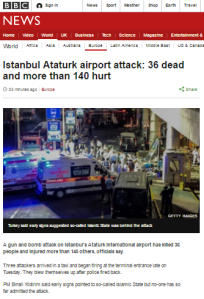Istanbul attack main art
