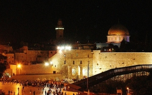 Kotel at night 2