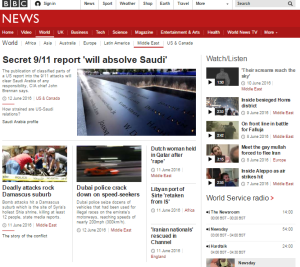 Beirut bank bomb blanked by BBC News