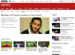 Continuing the mapping of BBC inconsistency in terrorism reporting