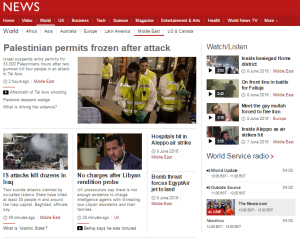 BBC post terror attack report focuses on travel permits rather than victims