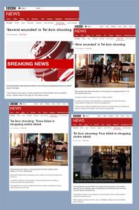 BBC coverage of Sarona Market terror attack – part one