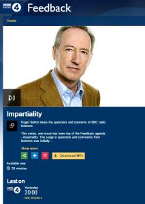 BBC R4 Feedback