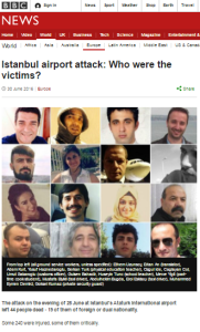 Istanbul attack victims