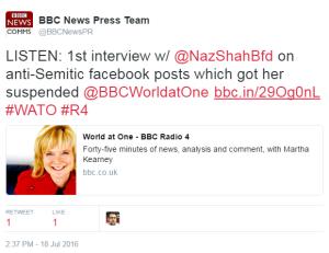 Naz Shah tweet WaO 1