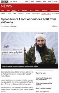 Confused and conflicting BBC reporting on Syrian jihadists