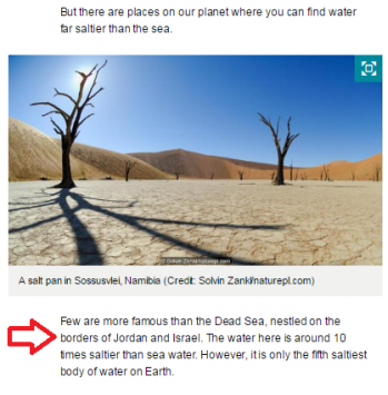 BBC Earth correction